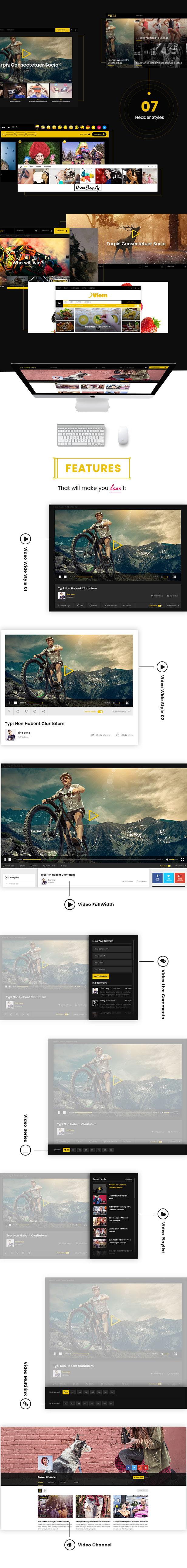 Viem - Video WordPress Theme - 2
