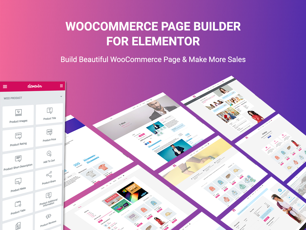 WooCommerce Page Builder For Elementor - 5